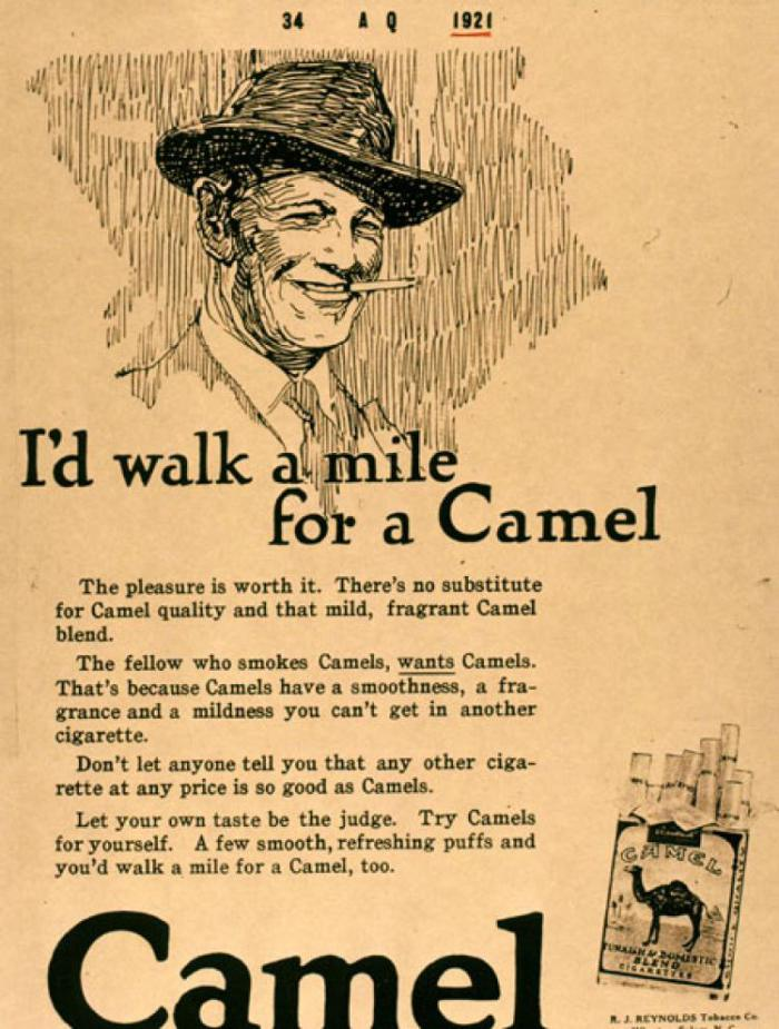 1920 � 1939 the golden age history of tobacco policy