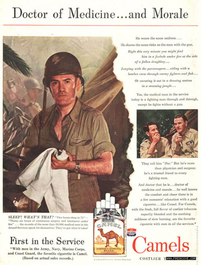 camels-gi-endorsement-wwii